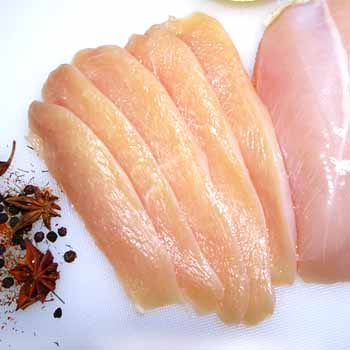 Fresh Sliced Chicken Breast