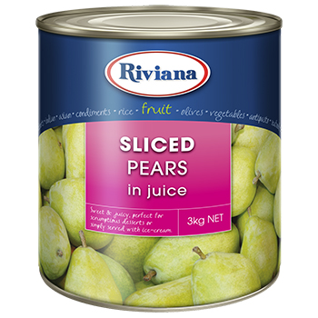 RIVIANA Sliced Pears