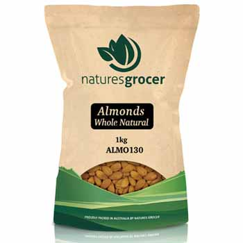 almonds whole natural