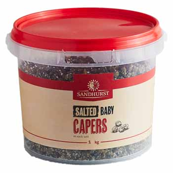 salted baby capers